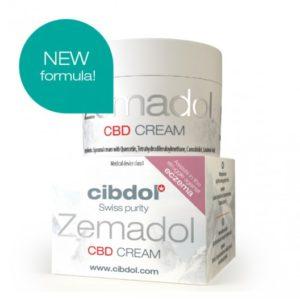 Crème de CBD Zemadol de Cibdol