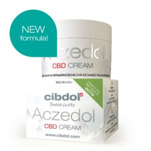 Crème de CBD Aczedol de Cibdol